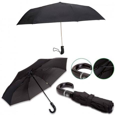 מטריה מתקפלת אוטומטית יוקרתית  - 21 אינטש