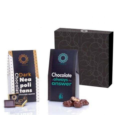 מארז שוקולדים זוגי - דאבל