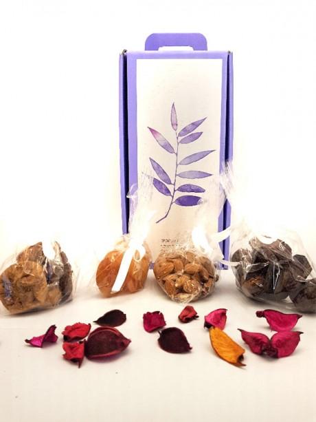 חבילת שי - מזוודת פירות יבשים