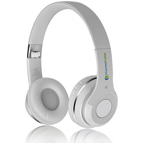 אוזניות בלוטוס משולבות נגן MP3 ורדיו