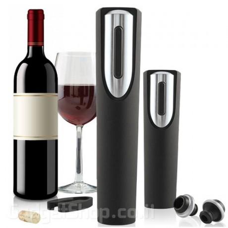 סט פותחן יין אלקטרוני עם משאבת וואקום
