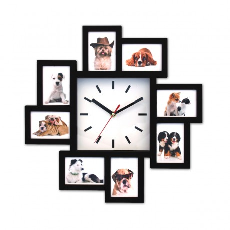 שעון קיר תמונה משפחתית