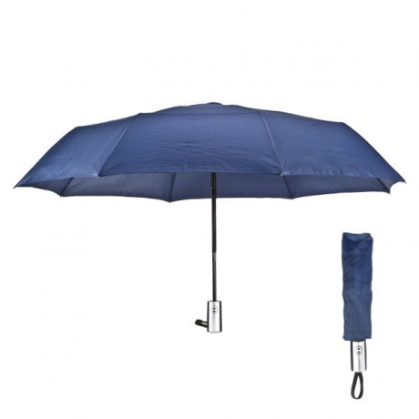 מטריה ממותגת מתקפלת 22 אינץ