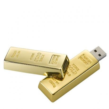 זיכרון נייד ממותג מטיל זהב