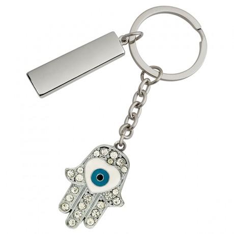 מחזיק מפתחות ממותג חמסה