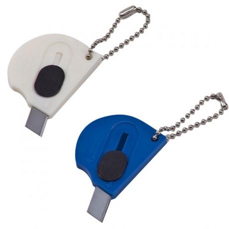 מחזיק מפתחות ממותג עם סכין יפנית