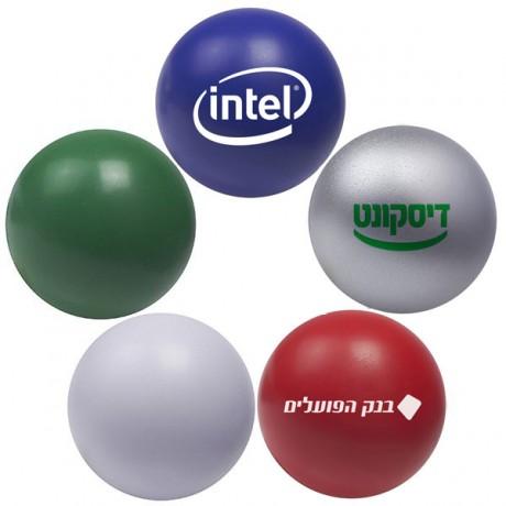 כדור לחץ צבעוני ממותג