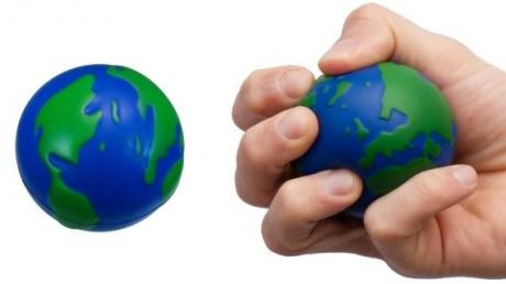 כדור גומי לחיץ כדור הארץ