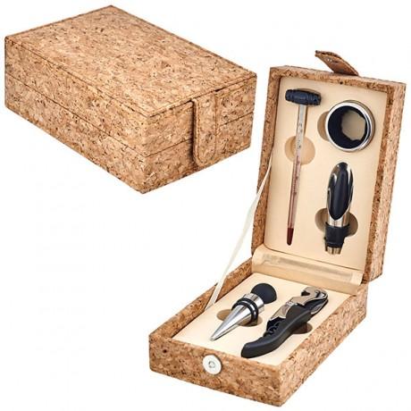 מארז 5 חלקים ליין בקופסת עץ שעם