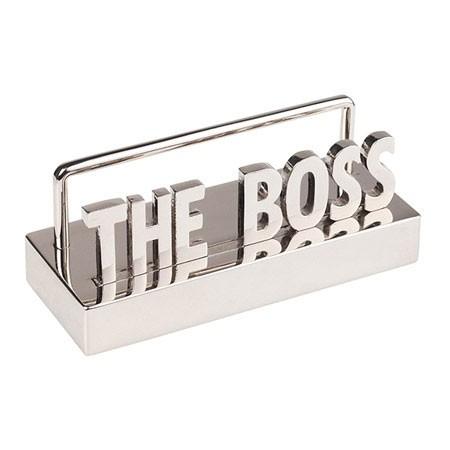 מעמד לכרטיסי ביקור THE BOSS
