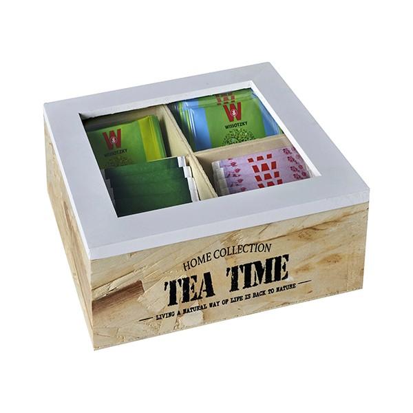 קופסת תה 4 תאים